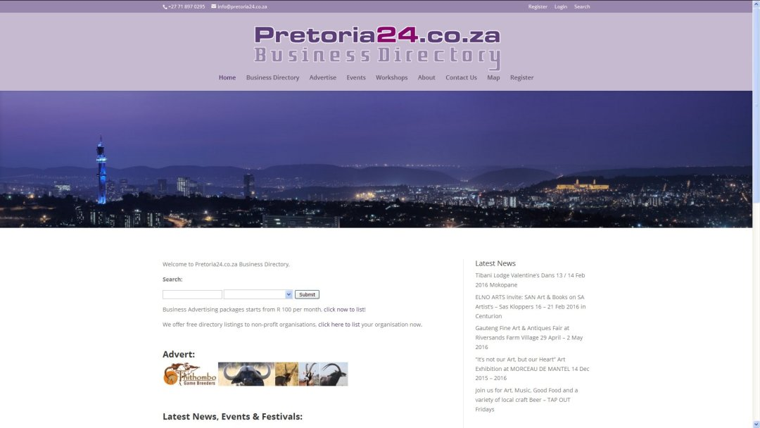 Pretoria24.co.za Business Directory