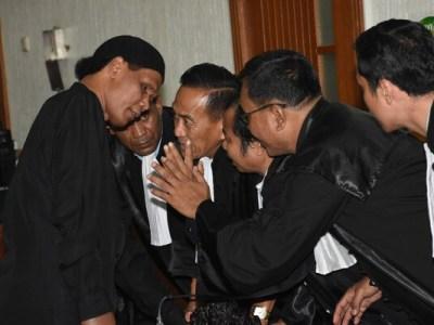 Pengacara Hercules dari Kantor Hukum EQUAL & CO : Hercules divonis 8 bulan, Majelis Hakim Cerdas