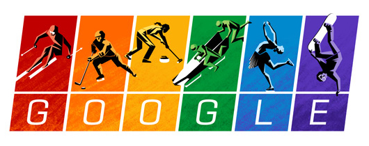 Google Sports Rainbow Olympic Logo
