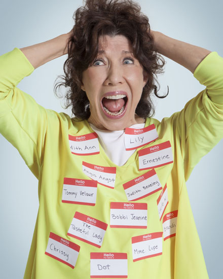 Lily Tomlin Reveals Plan to Take-Over Seattle! Part 1
