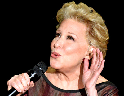 "Bette Midler Transforms ""Waterfalls"""