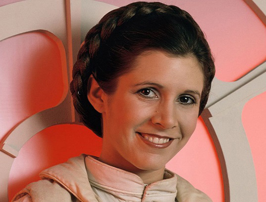 Carrie Fisher passed away