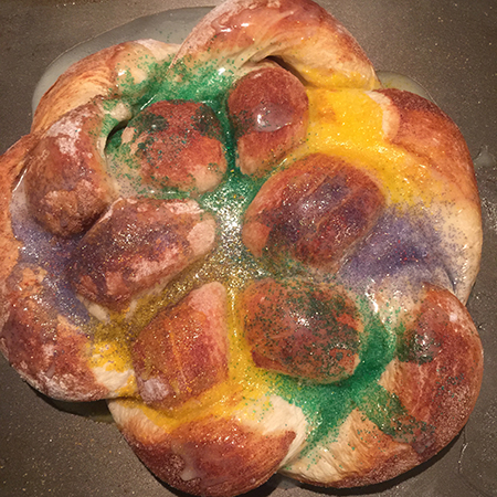 king cake finished