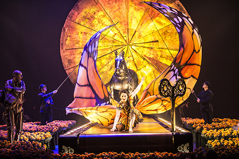 "The Tent Is Raised! Cirque Du Soleil's New Show ""Luzia"" Opens Tonight!"