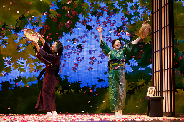 Auckland NEW ZEALAND - 16th April 2013, Dress rehearsal Madame Butterfly