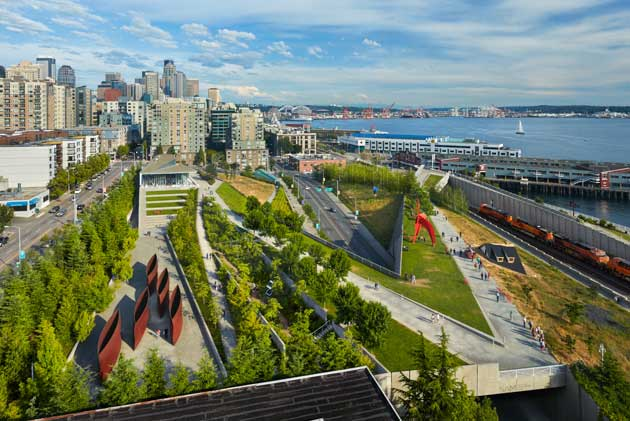 Seattle's Olympic Sculpture Park