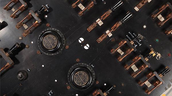"Switchboard used in ""Frankenstein, Bride of Frankenstein"" and other films"