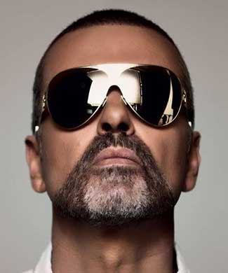George Michael (courtesy of Sony Legacy)
