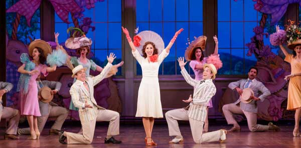 Eric Ankrim, Sarah Rose Davis and Matt Owen in Irving Berlin's Holiday Inn - Photo Credit Mark Kitaoka on equality365.com