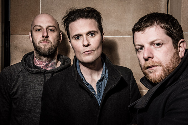 GLASGOW, ENGLAND - OCTOBER 06: The Fratellis shot in Glasgow on October 6th 2017 (Photo by Nicky J Sims) Jon Fratelli interview on Equality365.com