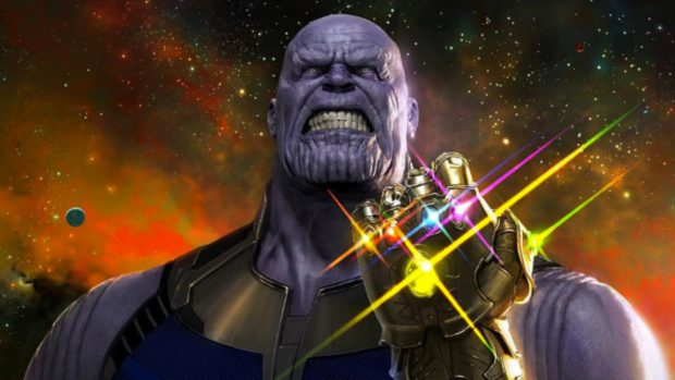 avengers infinity war thanos with gauntlet on equality365.com