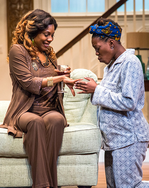 Familiar by Danai Gurira at Seattle Rep (photo by Navid Baraty)