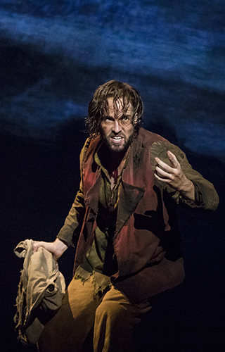 Nick Cartell as Jean Valjean in Les Misérables