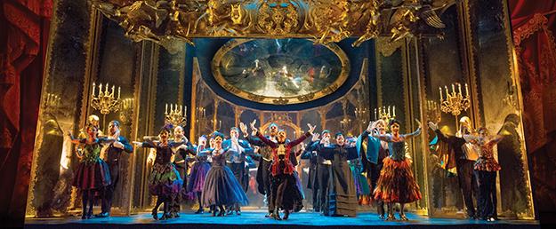 """The Company performs """"Masquerade."""" Original Tour Cast (Photo by Alistair Muir) on Equality365.com"""
