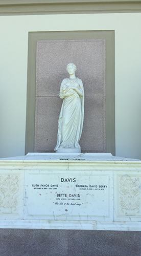 Tomb of Bette Davis