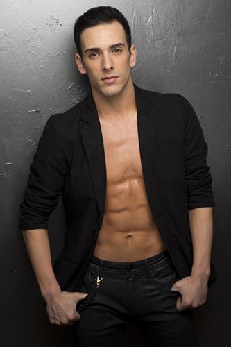 Joey Arrigo of Cirque du Soleil VOLTA
