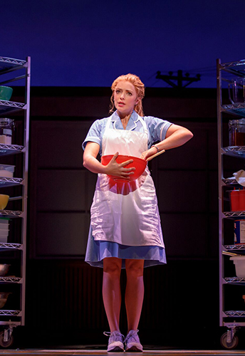 Waitress the musical national tour (photo by Joan Marcus)