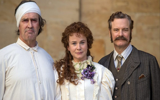 The Happy Prince: Rupert Everett, Emily Watson and Colin Firth (photo courtesy of Sony Pictures)