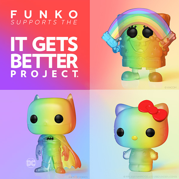 Funko 2020 LGBTQ It Gets Better collection