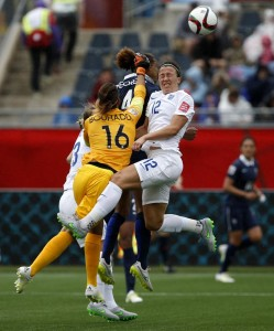Sarah Bouhaddi kept a clean sheet Tuesday but had a few too many adventures along the way (Getty Images)