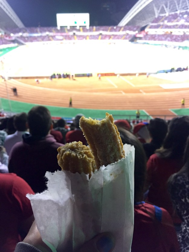 The churros were delicious: photo creds to food-loving Morri