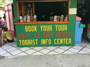 Right at this oficial tourist info center