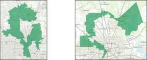 gerrymandered districts