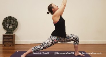 How to do Warrior 1 (Virabhadrasana I)