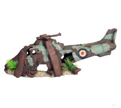 Ruined Helicopter Medium