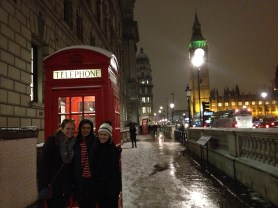 One of my favorite days in London. Snowy Westminster after the Churchill War Rooms.