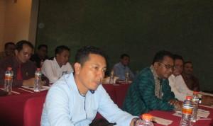 Anggota DPRD Ketapang saat mengikuti Bimtek Sinkronisasi Peran DPRD dengan Tim Anggaran Pemkab Dalam Pelaksanaan Penyusunan APBD Ketapang 2016 Serta Pengawasan Pelaksanaan Keuangan Desa di Yogyakarta.