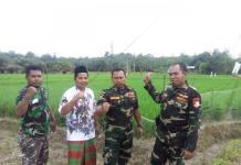 Anggota Ansor dan Banser Kecamatan Kembayan