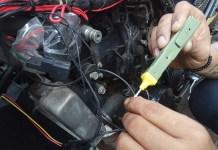 Electronic tester mampu mendeteksi kerusakan internal kabel, kondisi socket dan performa busi (Teguh Jiwa Brata / JawaPos.com)