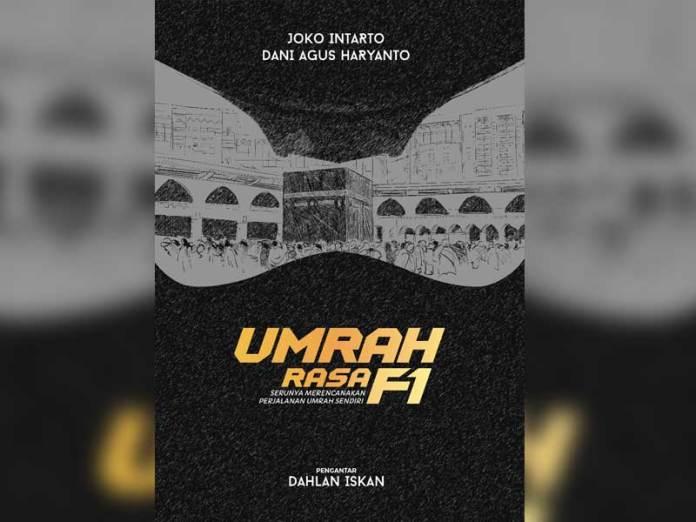 COVER. Sampul buku Umrah Rasa F1. jto for Rakyat Kalbar