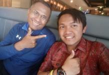 Khairul Anwar dan Dahlan Iskan. Andre So for Rakyat Kalbar