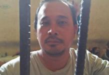 MALING. HE, terpaksa mendekam di sel Polsek Pontianak Barat lantaran mencuri Hp, kemarin. Polsek Pontianak Barat for RK