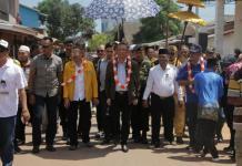 Sutarmidji kunjungi kabupaten ketapang, dan disambut hangat masyarakat ketapang