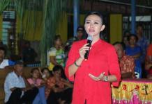 Calon Gubernur Kalimantan Barat nomor urut 2, dr. Karolin Margret Natasa