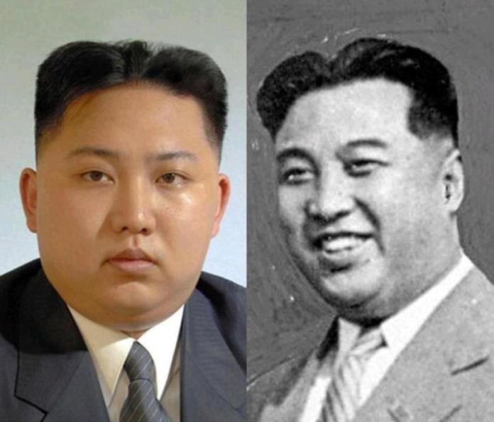 Potongan rambut Presiden Kim yang mirip kakeknya