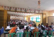 PPDB. Suasana hari pertama PPDB Online di SMAN 1 Ngabang, Senin (2/7). Antonius-RK