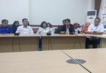MEDIA SOSIAL PEMKAB. Launching Website, Facebook dan Instagram Humas Pemkab Sintang di ruang rapat Sekretariat Daerah, Rabu (4/7). Benidiktus Krismono-RK
