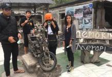 MERAPI. Museum bencana Merapi di Desa Kinahrejo yang tidak jauh dari desa Pentingsari pun menjadi daya tarik tersendiri. Jto