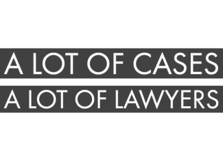 A Lot of Cases, A Lot of Lawyers