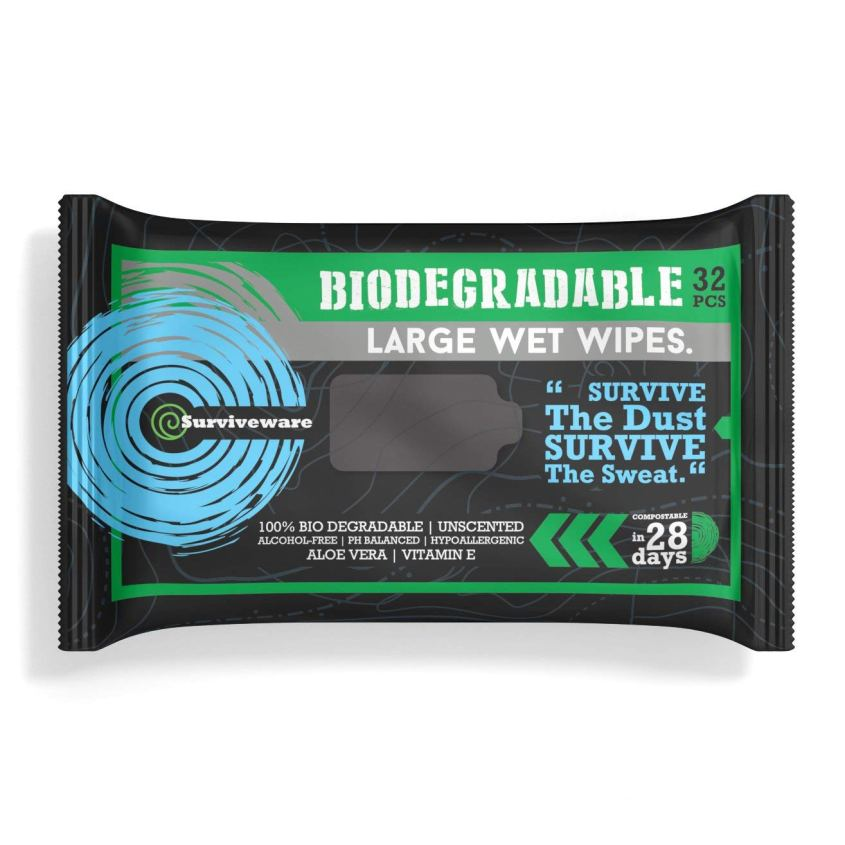 Quick and easy solution: wet wipes in your horse trail riding gear