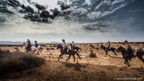 If you like horses and adventure, then try galloping through the Sahara Desert in Morocco