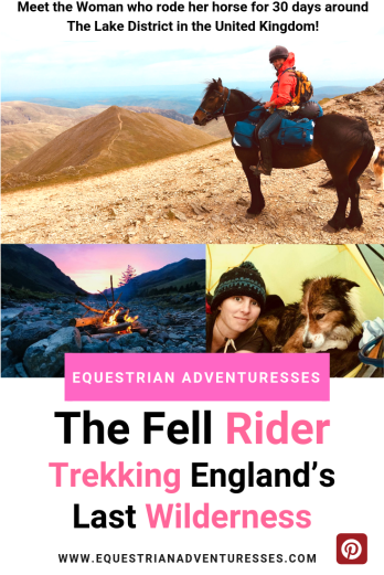 Pinterest Picture for Horse Trekking in England