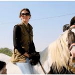 riding bareback on Sapna
