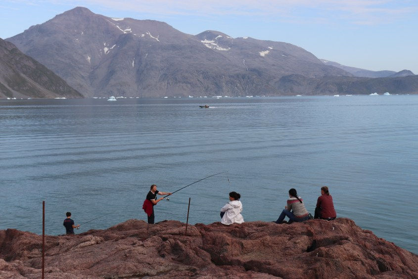 Fishing is a nice activity to calm down in the evening. Whatever you catch will be freshly prepared for next day's dinner.