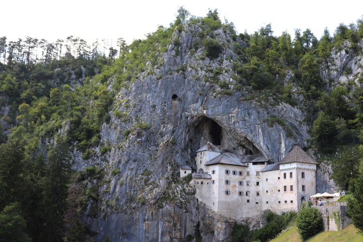 """Predjama Castle near Postojna in Slovenia. It was featured in the epic Jackie Chan movie """"Armour of God"""" from 1986."""