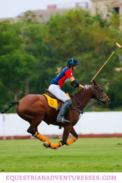 Pinterest Pin for article: The Exciting Life of Traveling Women Polo Players - Part 1